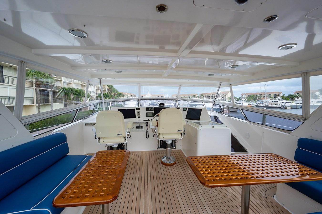 Tout Va Bien_Flybridge6 2005 GRAND BANKS 64 Aleutian RP Motor Yacht 2726110