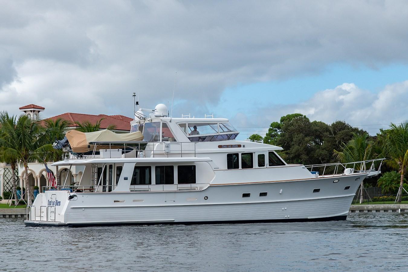 Tout Va Bien_Stern Profile5 2005 GRAND BANKS 64 Aleutian RP Motor Yacht 2726115