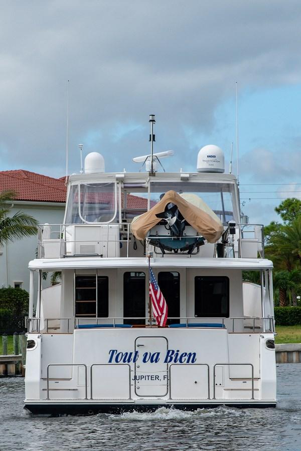 Tout Va Bien_Stern Profile3 2005 GRAND BANKS 64 Aleutian RP Motor Yacht 2726116