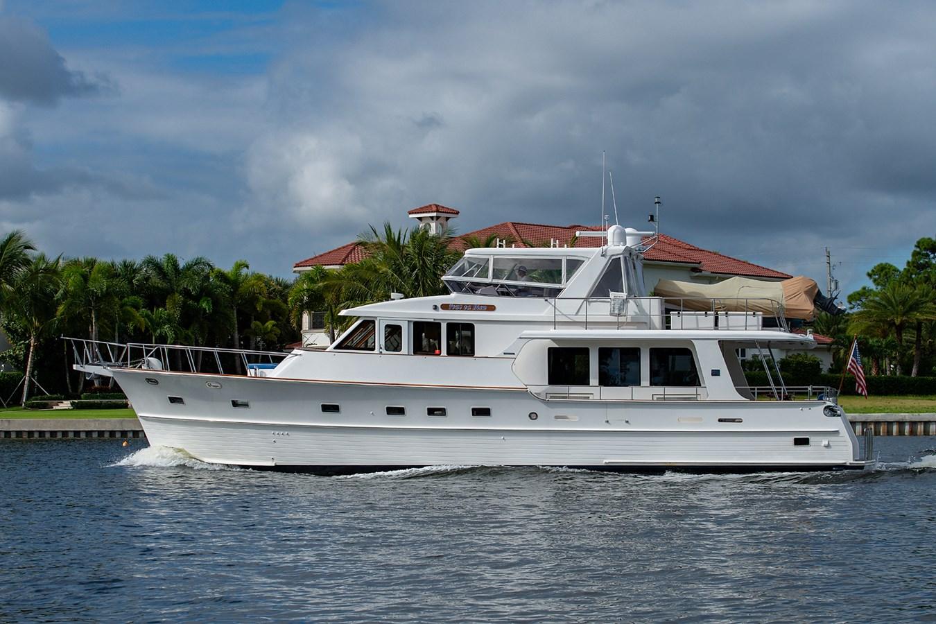 Tout Va Bien_Running Shots15 2005 GRAND BANKS 64 Aleutian RP Motor Yacht 2726141