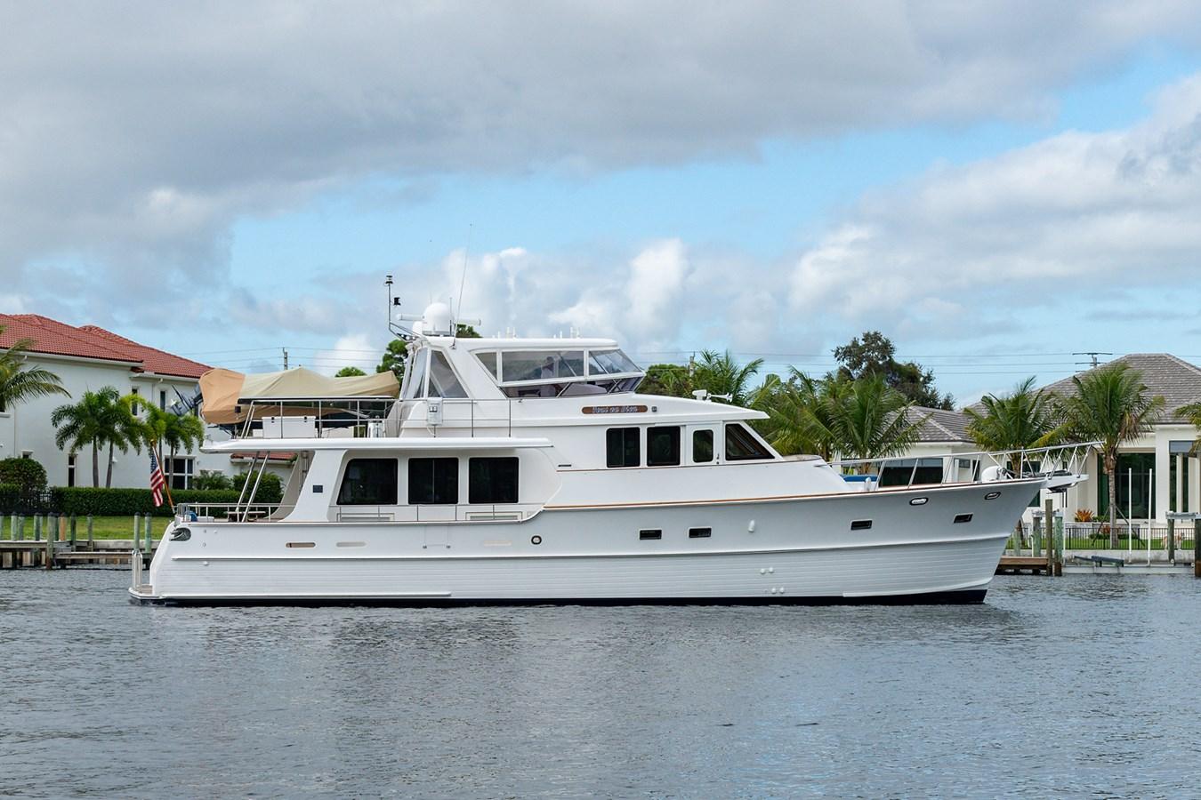 Tout Va Bien_Starboard Profile1 2005 GRAND BANKS 64 Aleutian RP Motor Yacht 2726155