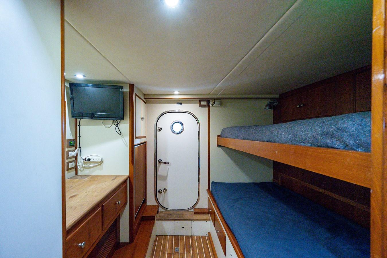 Tout Va Bien_Crew Quarters1 2005 GRAND BANKS 64 Aleutian RP Motor Yacht 2726188