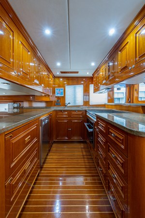 Tout Va Bien_Galley2 2005 GRAND BANKS 64 Aleutian RP Motor Yacht 2726152