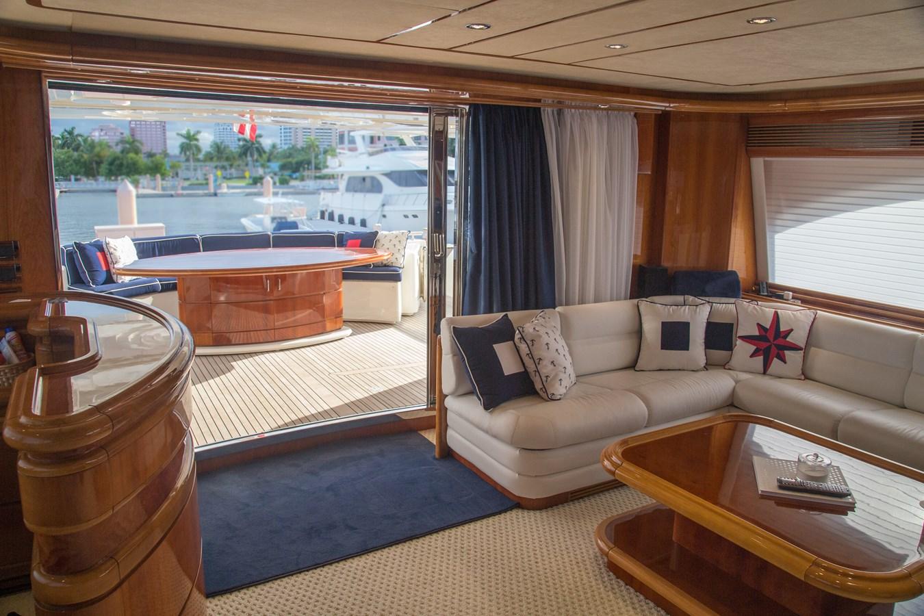 Salon 2003 FERRETTI YACHTS Custom Flybridge Motor Yacht 2710290