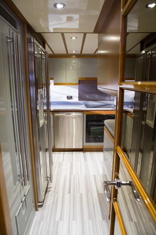 Galley 2003 FERRETTI YACHTS Custom Flybridge Motor Yacht 2710309