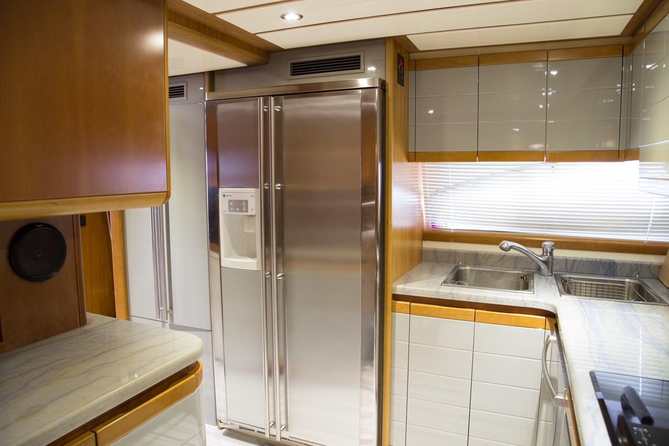 Galley 2003 FERRETTI YACHTS Custom Flybridge Motor Yacht 2710312