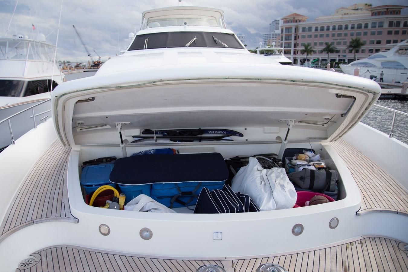 Bow Storage 2003 FERRETTI YACHTS Custom Flybridge Motor Yacht 2710327