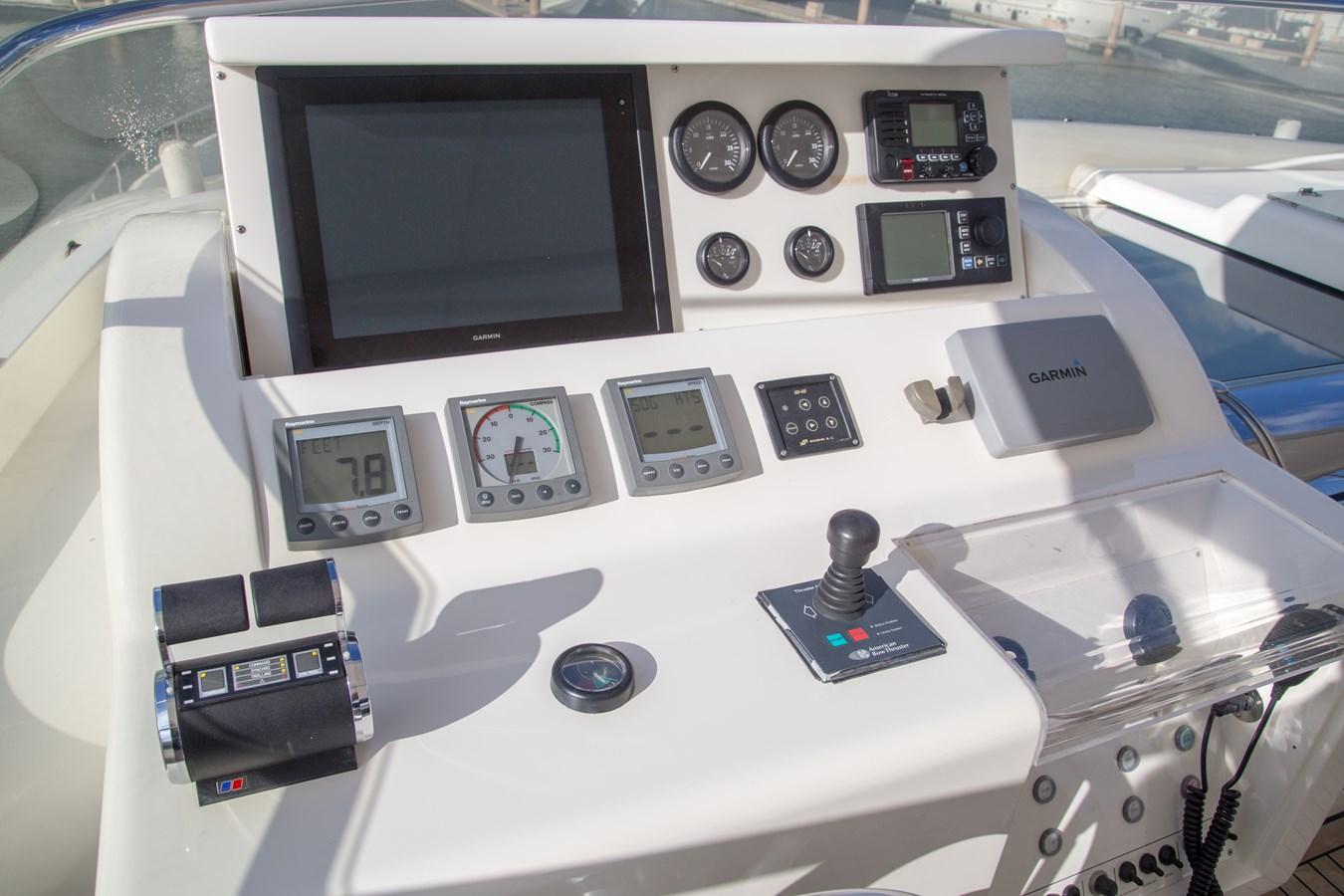 Hi-Lo Bridge Instrumentation/Controls 2003 FERRETTI YACHTS Custom Flybridge Motor Yacht 2710339