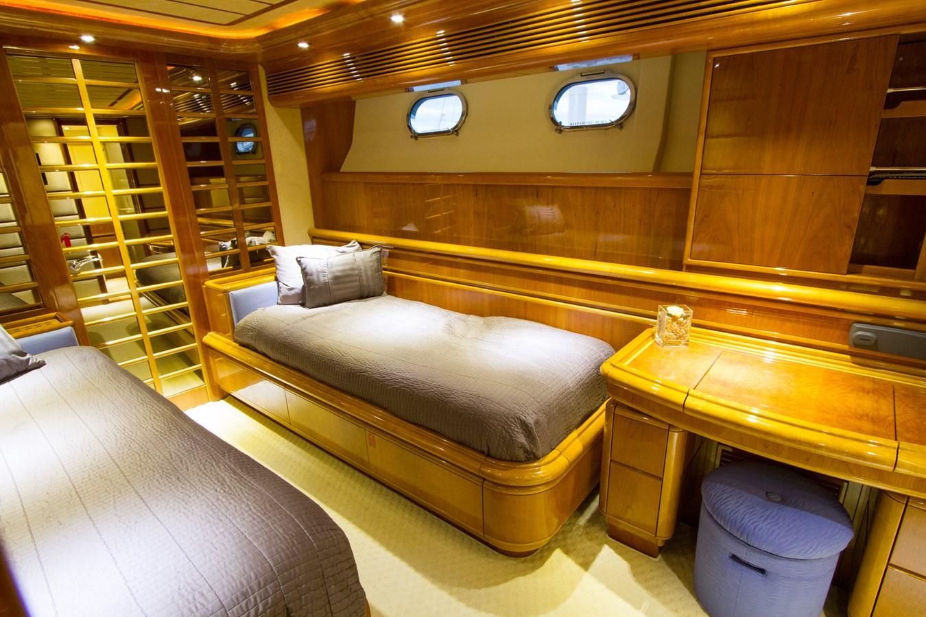 Starboard Guest Stateroom  2003 FERRETTI YACHTS Custom Flybridge Motor Yacht 2710359