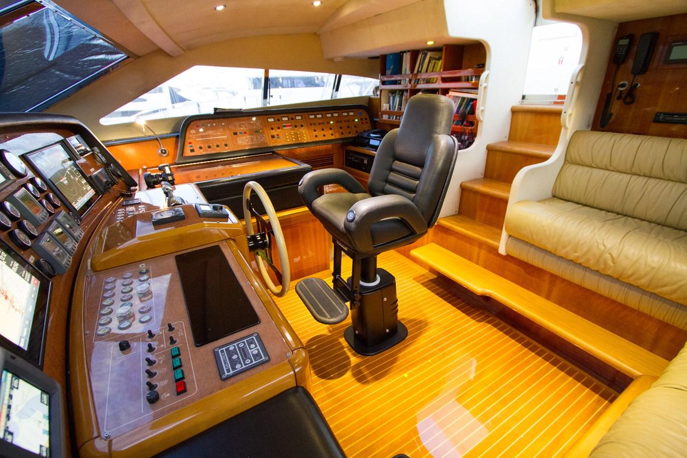 Pilothouse 2003 FERRETTI YACHTS Custom Flybridge Motor Yacht 2710365