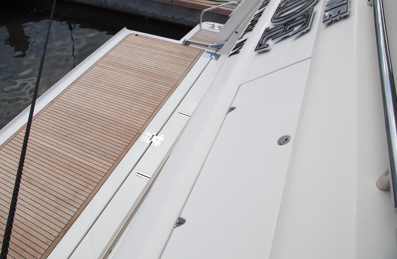 Transom Platform 2003 FERRETTI YACHTS Custom Flybridge Motor Yacht 2710368