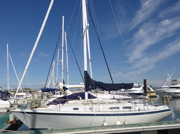 C-Breeze 1989 ERICSON YACHTS Ericson 32-3 Cruising/Racing Sailboat 2710752