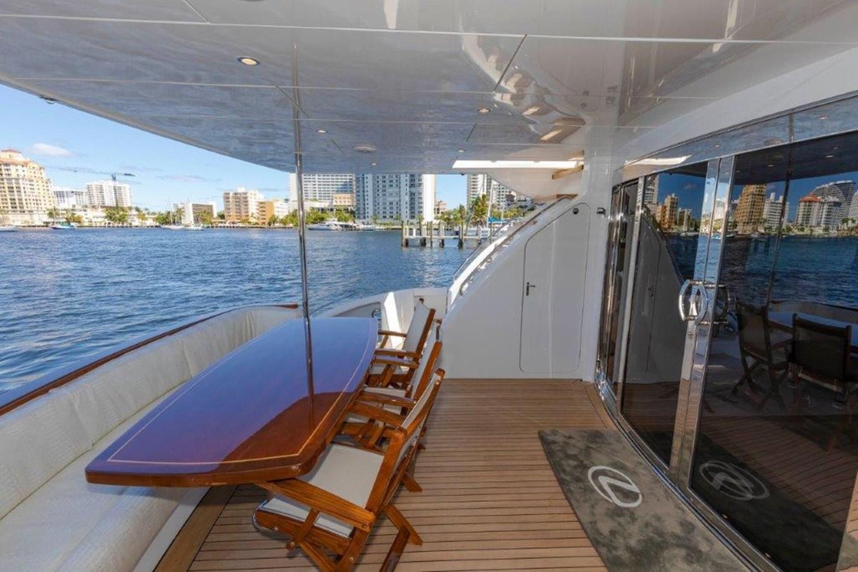 Aft Deck  2013 HATTERAS  Motor Yacht 2711345