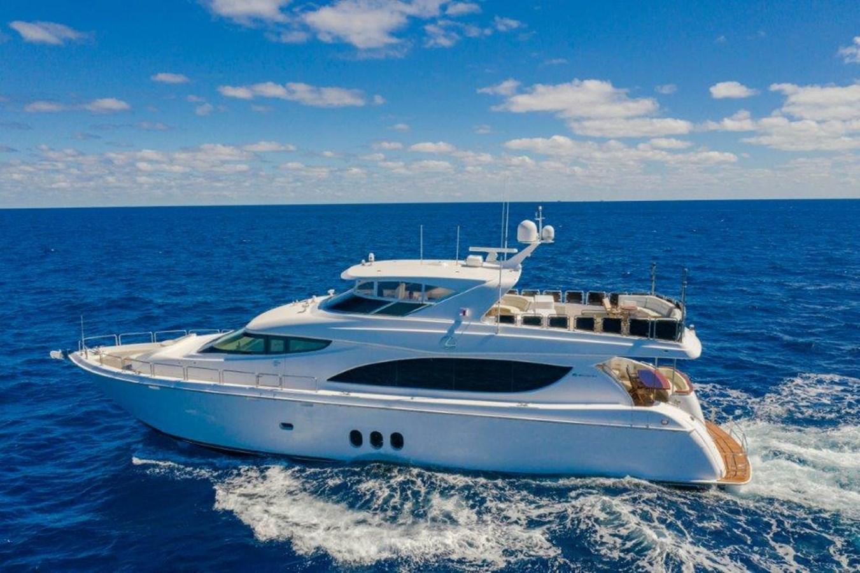 Profile at Sea  2013 HATTERAS  Motor Yacht 2711375