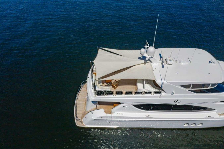 Drone Aerial  2013 HATTERAS  Motor Yacht 2711383