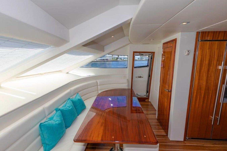 Galley Dinette 2013 HATTERAS  Motor Yacht 2711384