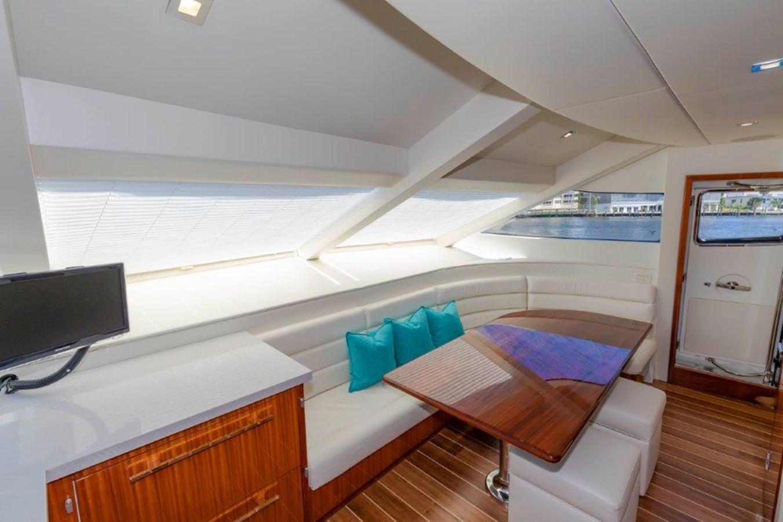 Galley Dinette 2013 HATTERAS  Motor Yacht 2711427