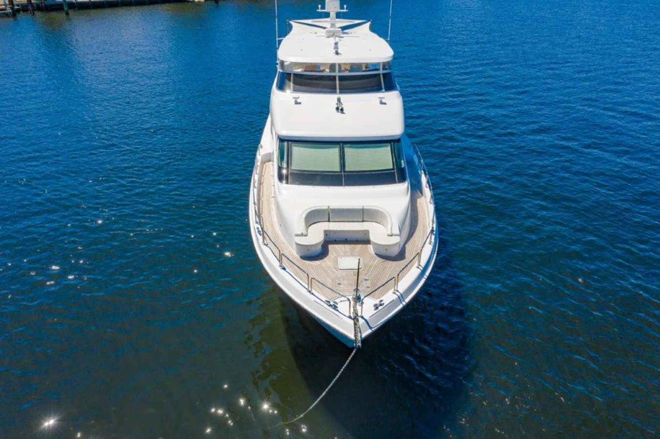 Drone Aerial Bow 2013 HATTERAS  Motor Yacht 2711433