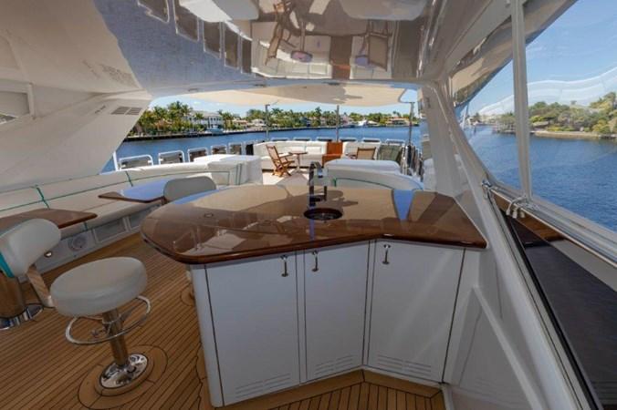 Flybridge bar  2013 HATTERAS  Motor Yacht 2711359