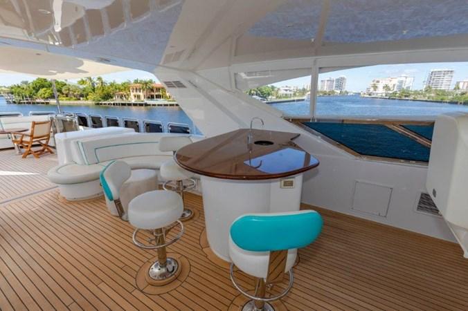Flybridge Bar 2013 HATTERAS  Motor Yacht 2711385