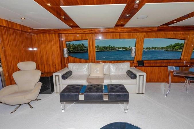 Main Salon Port 2013 HATTERAS  Motor Yacht 2711421