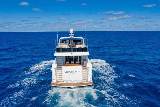 Stern at Sea 2013 HATTERAS  Motor Yacht 2711424