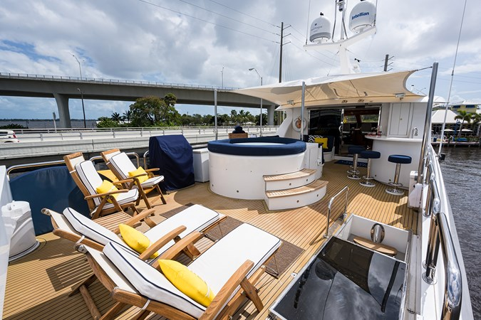 Boat Deck  2005 HARGRAVE Sky Lounge Motor Yacht 2716511
