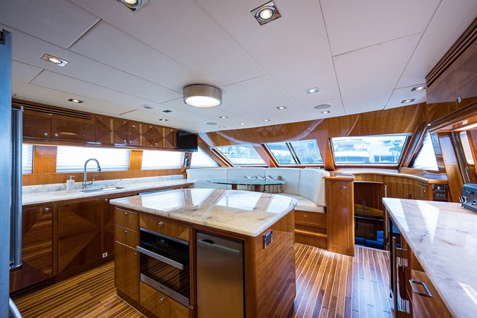 Galley 2005 HARGRAVE Sky Lounge Motor Yacht 2716523