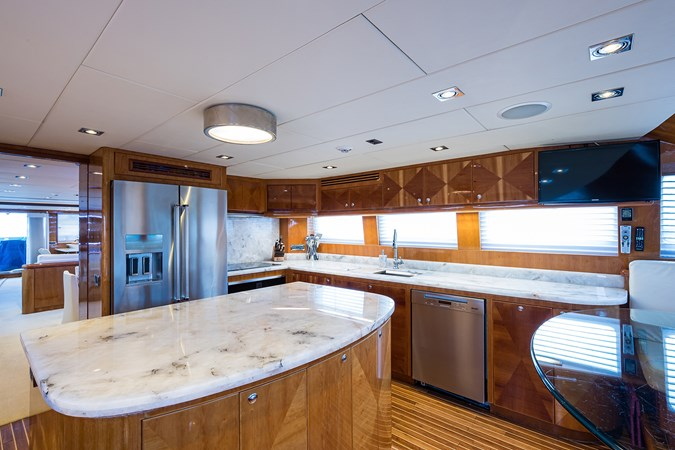 Galley 2005 HARGRAVE Sky Lounge Motor Yacht 2716524