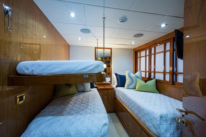 Guest Twin Stateroom with Pullman - Mid Port  2005 HARGRAVE Sky Lounge Motor Yacht 2716542