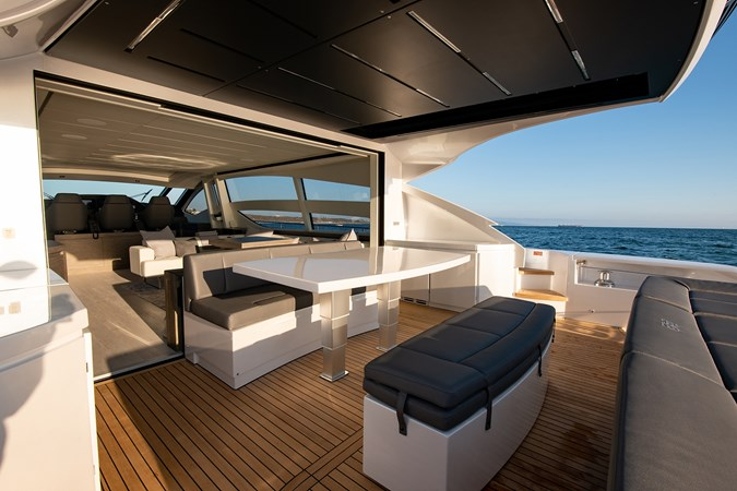 Aft Deck  2017 PERSHING 82 VHP Motor Yacht 2719635