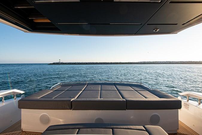 Aft Deck Lounge Pad  2017 PERSHING 82 VHP Motor Yacht 2719639