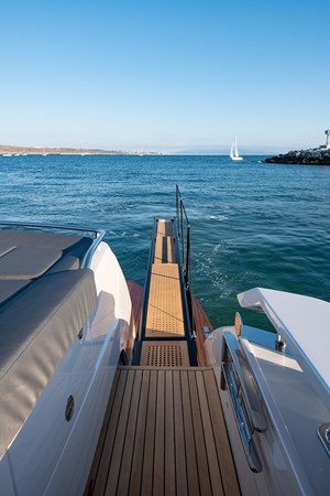 Aft Deck with Passeralle 2017 PERSHING 82 VHP Motor Yacht 2719643