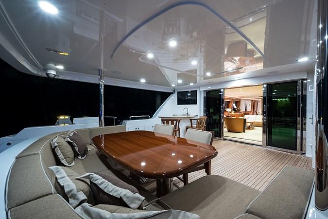 Kaleen_aftdeck_5 2008 WESTPORT  Motor Yacht 2718052