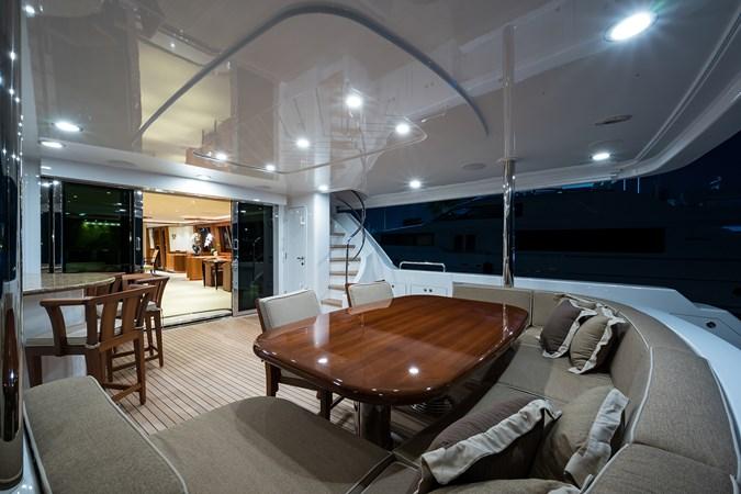Kaleen_aftdeck_6 2008 WESTPORT  Motor Yacht 2718054