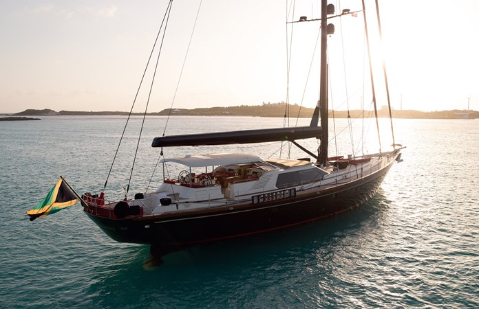 TENACIOUS 1995 TRIDENT SHIPWORKS Cutter Rigged Sloop Cutter