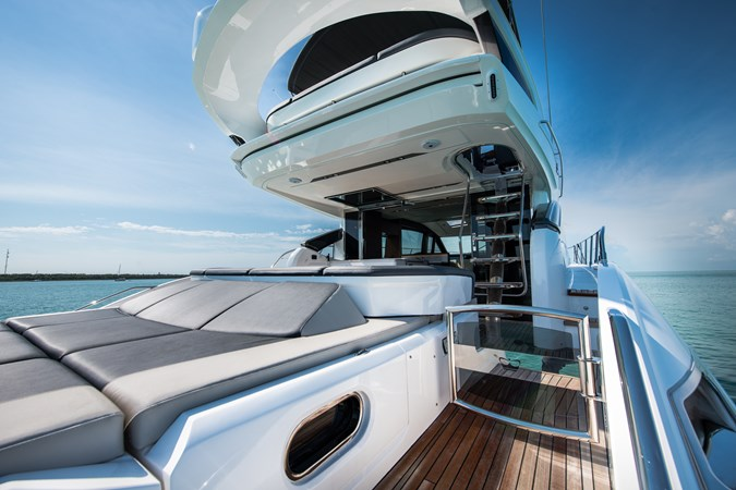 Aft Deck Seating 2017 PRINCESS YACHTS S65 Motor Yacht 2780842