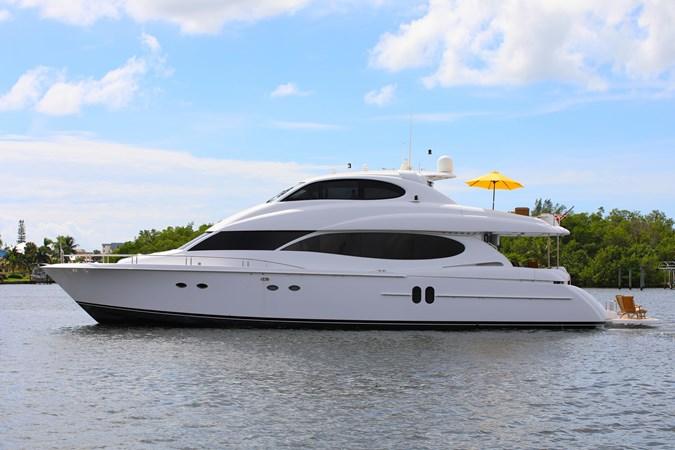 1 2006 LAZZARA 80 Skylounge Motor Yacht 2727497