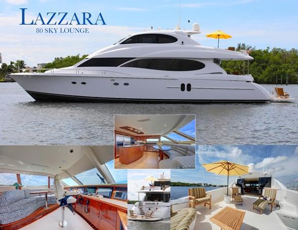 46 2006 LAZZARA 80 Skylounge Motor Yacht 2727499