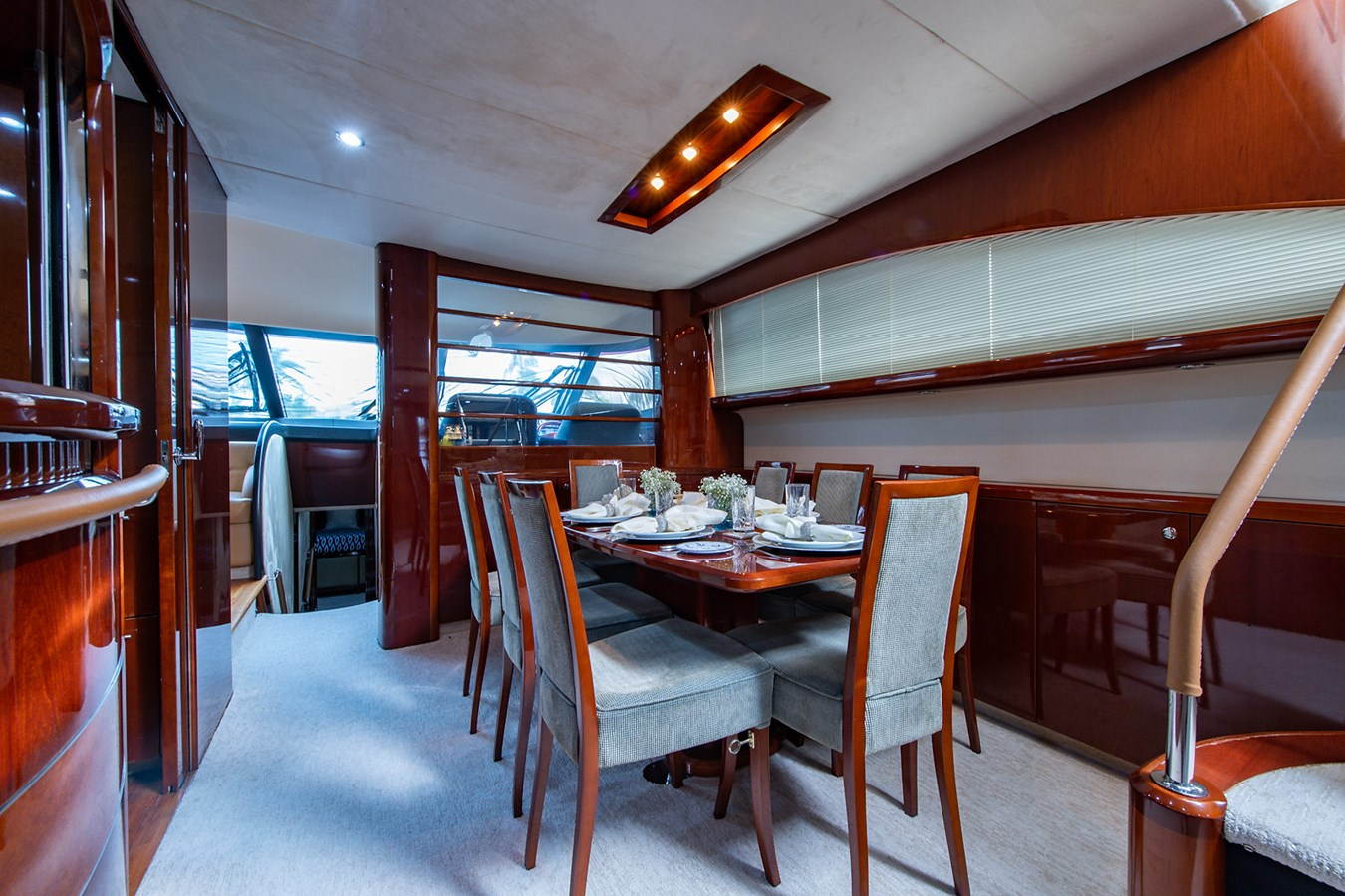 Forever 5_Dining1 2006 PRINCESS YACHTS  Motor Yacht 2721751