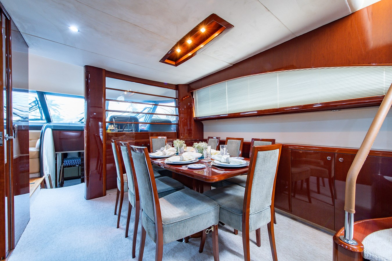 Forever 5_Dining3 2006 PRINCESS YACHTS  Motor Yacht 2721789