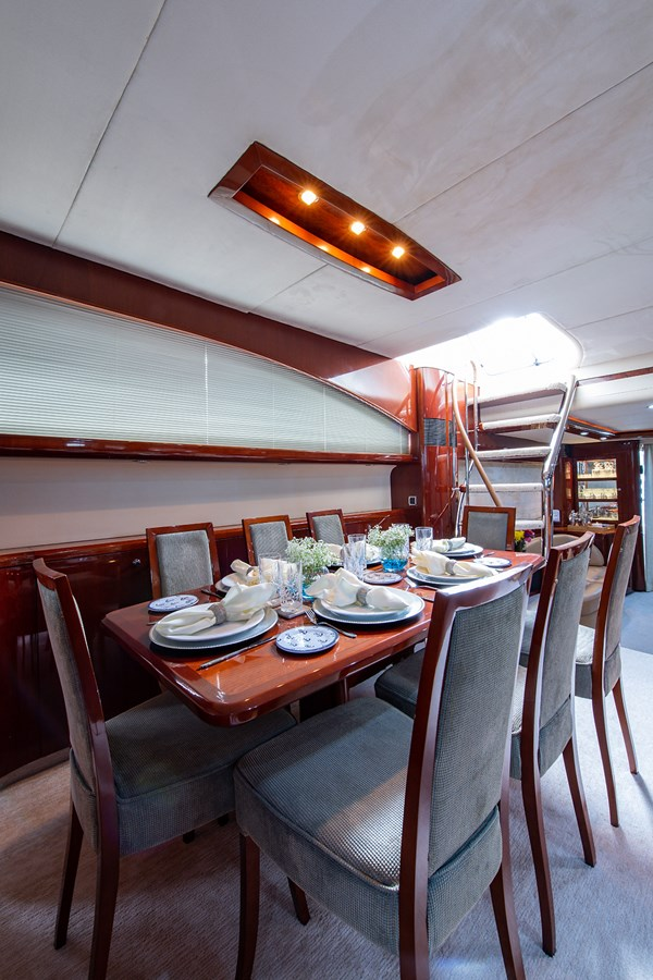 Forever 5_Dining4 2006 PRINCESS YACHTS  Motor Yacht 2721790