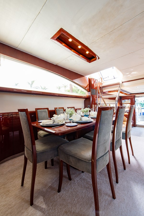Forever 5_Dining6 2006 PRINCESS YACHTS  Motor Yacht 2721791