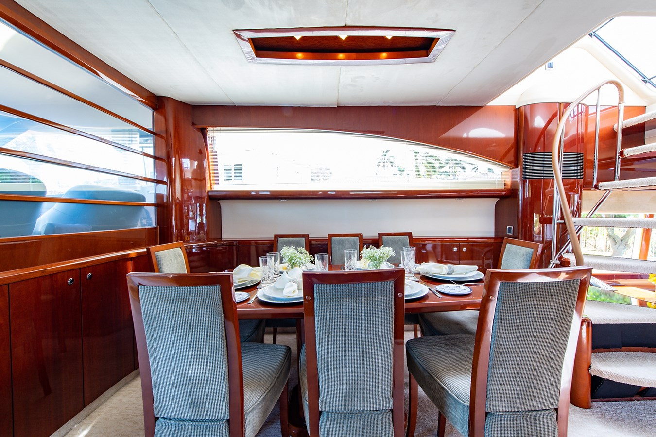Forever 5_Dining7 2006 PRINCESS YACHTS  Motor Yacht 2721792