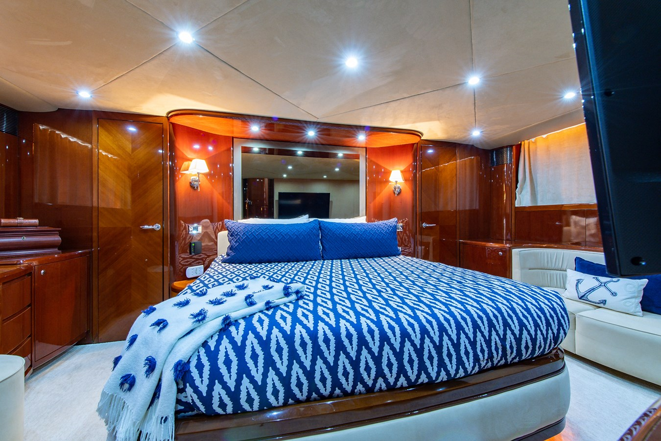 Forever 5_Master Stateroom1 2006 PRINCESS YACHTS  Motor Yacht 2721801