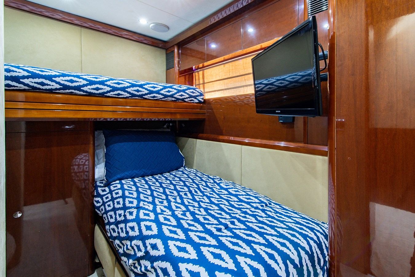 Forever 5_Starboard Guest Stateroom2 2006 PRINCESS YACHTS  Motor Yacht 2721818
