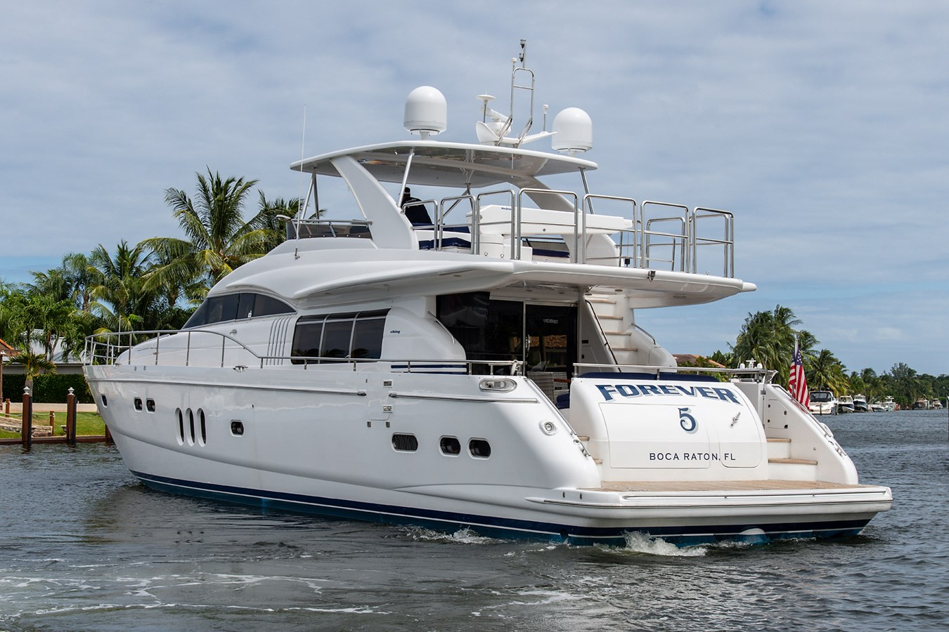 Forever 5_Stern Profile5 2006 PRINCESS YACHTS  Motor Yacht 2721847