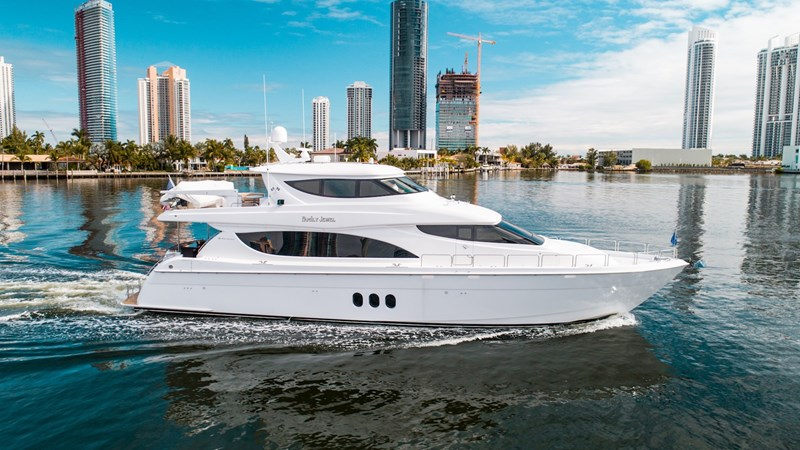 80' Hatteras Family Jewel Profile 2013 HATTERAS Enclosed Bridge MY Motor Yacht 2725484