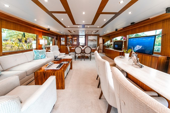 2013 HATTERAS Enclosed Bridge MY Motor Yacht 2725497