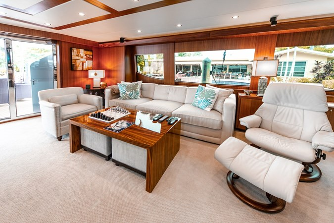 2013 HATTERAS Enclosed Bridge MY Motor Yacht 2725504